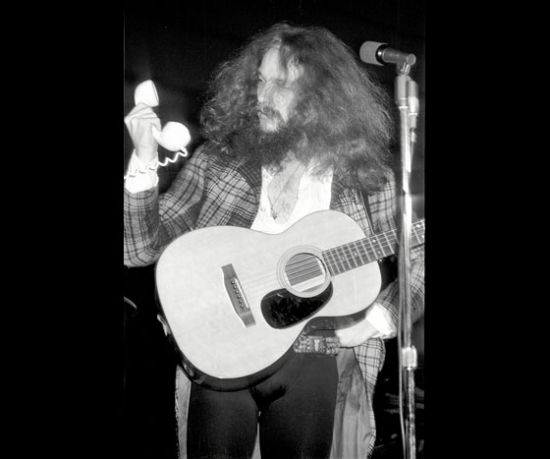 Ian Anderson of Jethro Tull answering the phone!