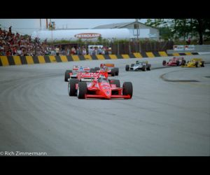 Milwaukee Mile 1987 CART Race